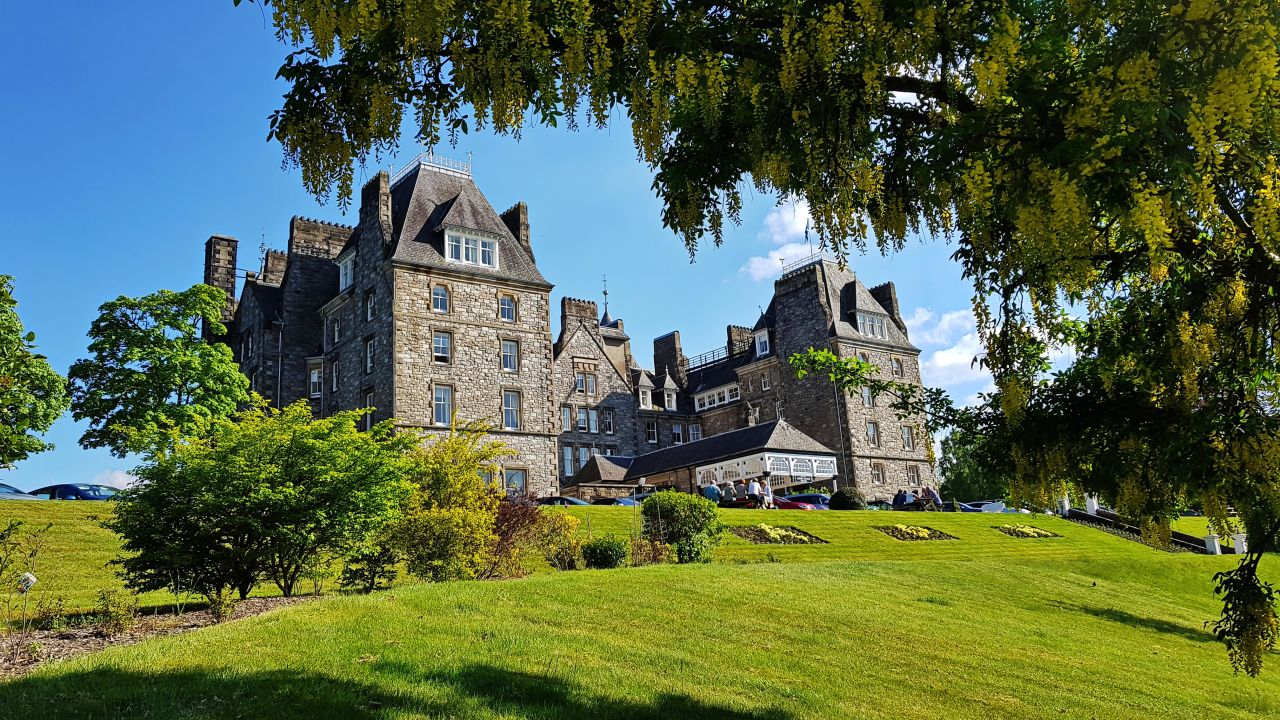 Schottland Pitlochry Hotel Atholl Palace