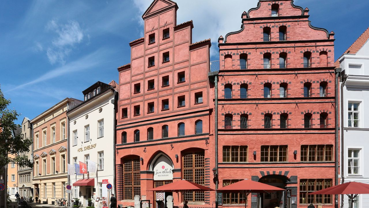 Romantik Hotel Scheelehof Stralsund