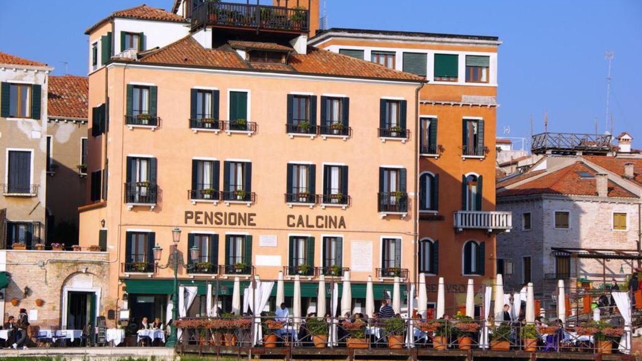 hotel pensione la calcina venedig holidaycheck venetien italien. Black Bedroom Furniture Sets. Home Design Ideas