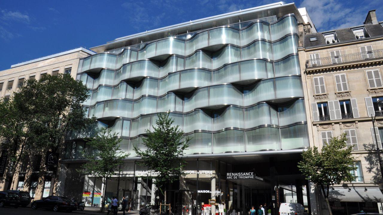 Hotel renaissance paris arc de triomphe hotel paris for Frankreich hotel paris