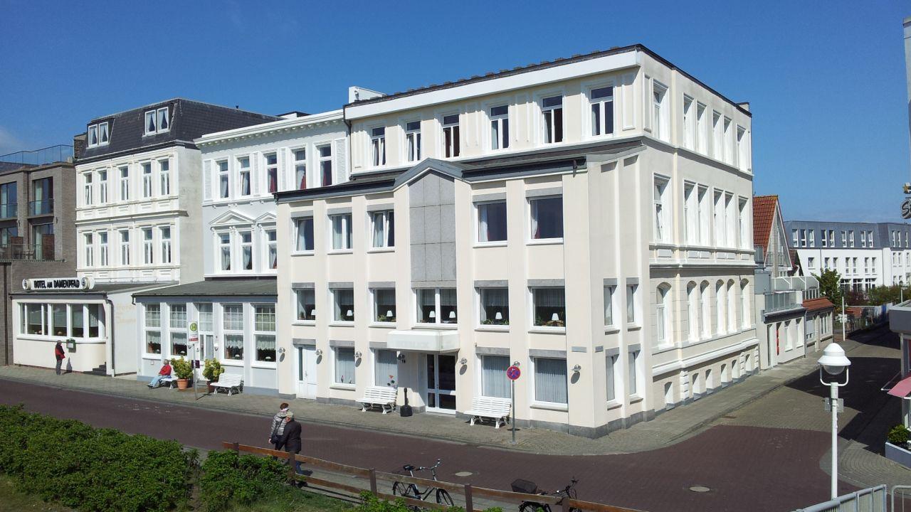 Hotel Am Damenpfad mit Haus Seeblick Norderney