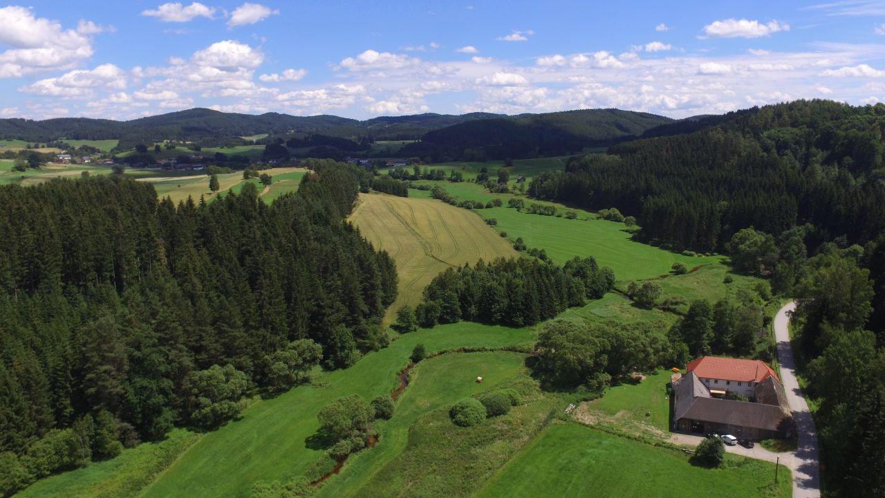 Grüne Wiese - Gäste-Minibungalow in der Edermühle (Bad Großpertholz ...