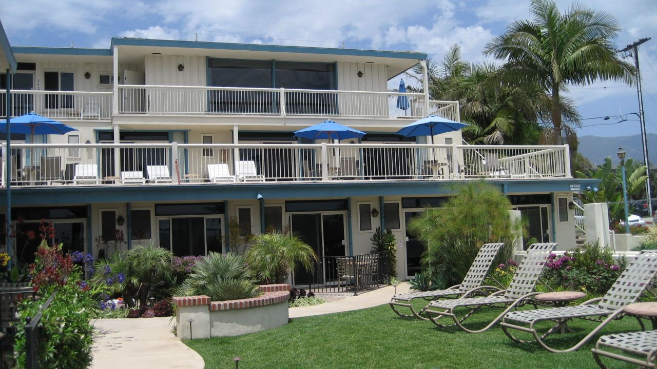hotel cabrillo inn at the beach santa barbara. Black Bedroom Furniture Sets. Home Design Ideas