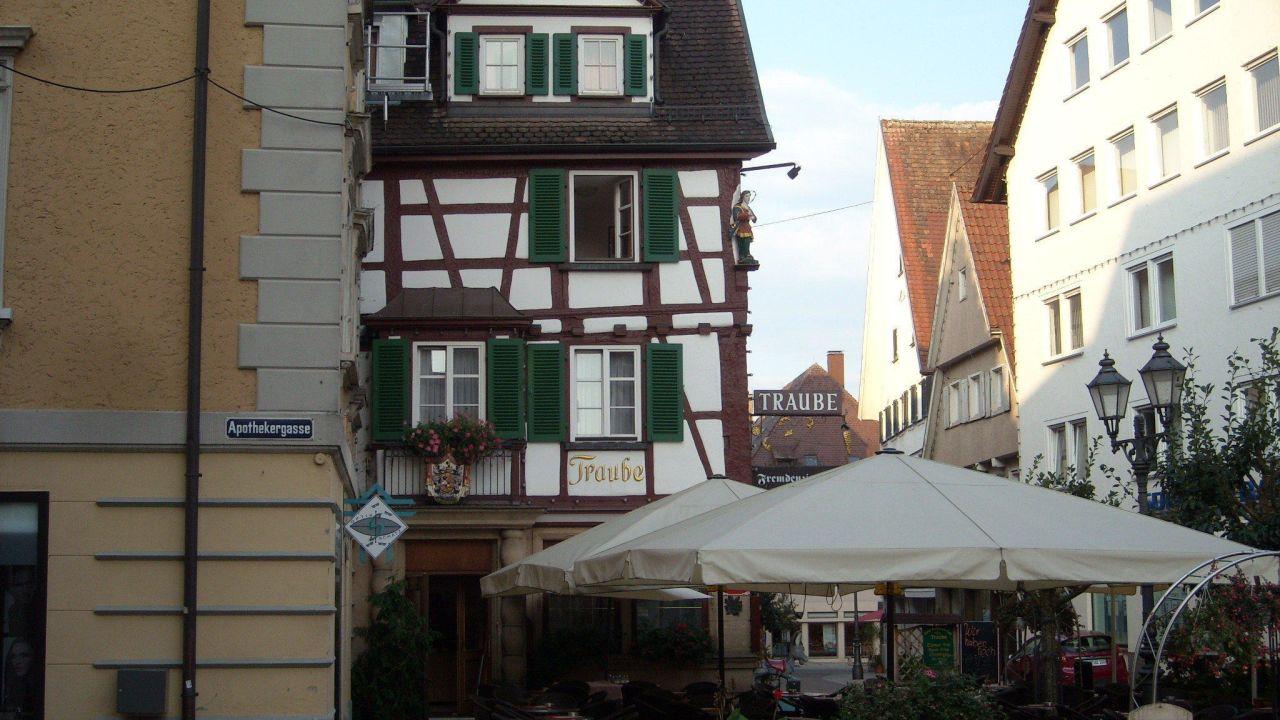 Hotel Gasthof Traube Sigmaringen Deutschland