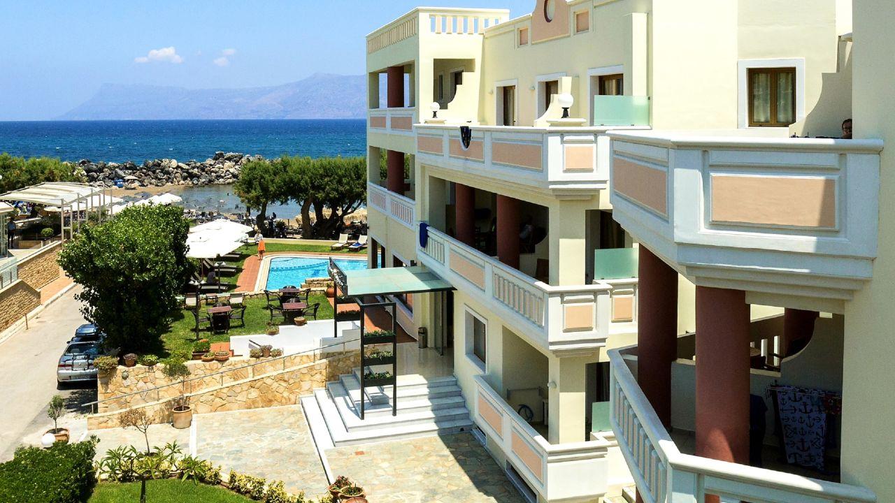 Hotel Aphrodite Beach Club Kreta Bewertung