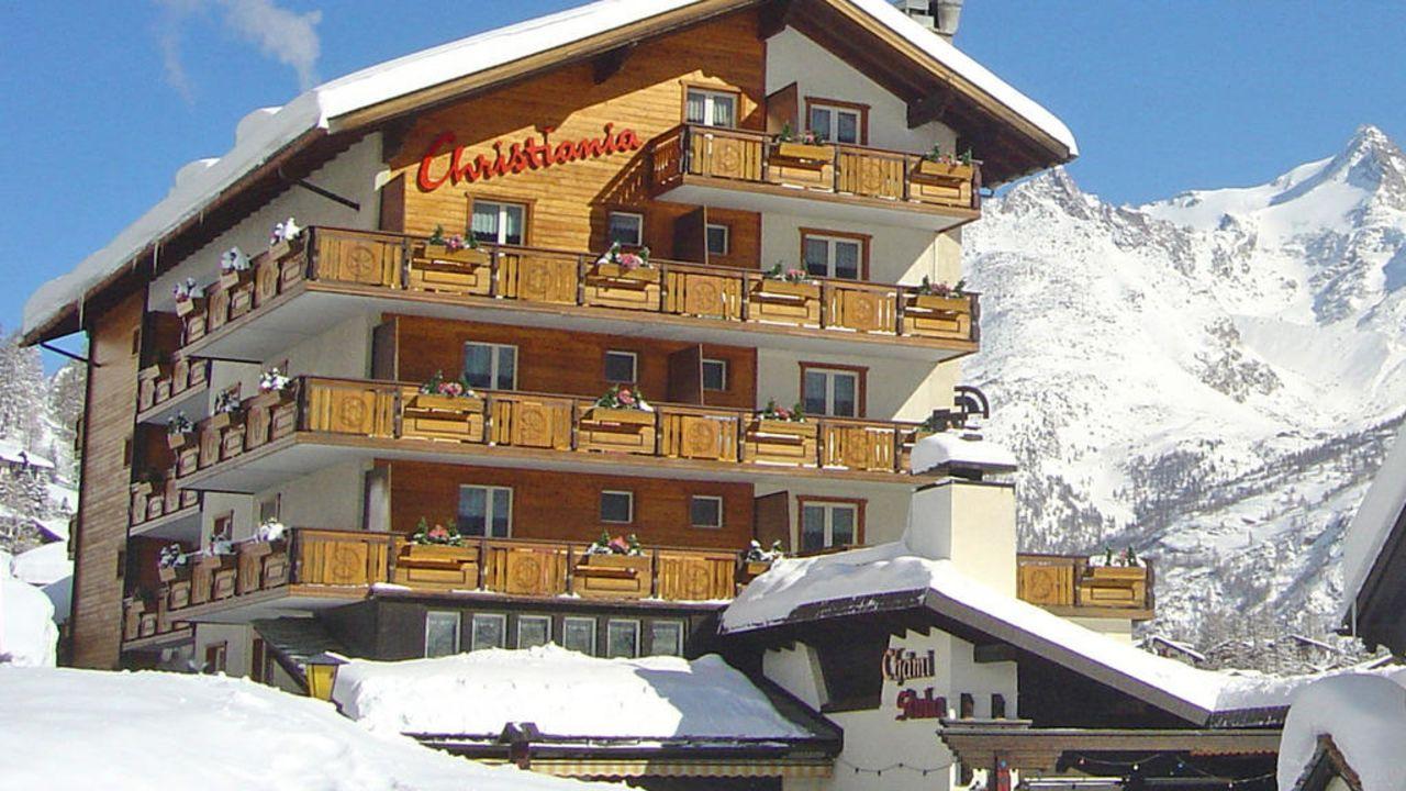 Hotel Christiania Saas Fee Holidaycheck Kanton Wallis Schweiz