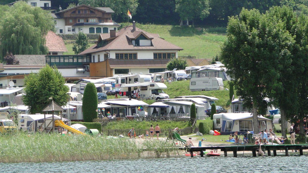 Mobilheime Ossiacher See : Terrassen camping ossiacher see ossiach u holidaycheck kärnten