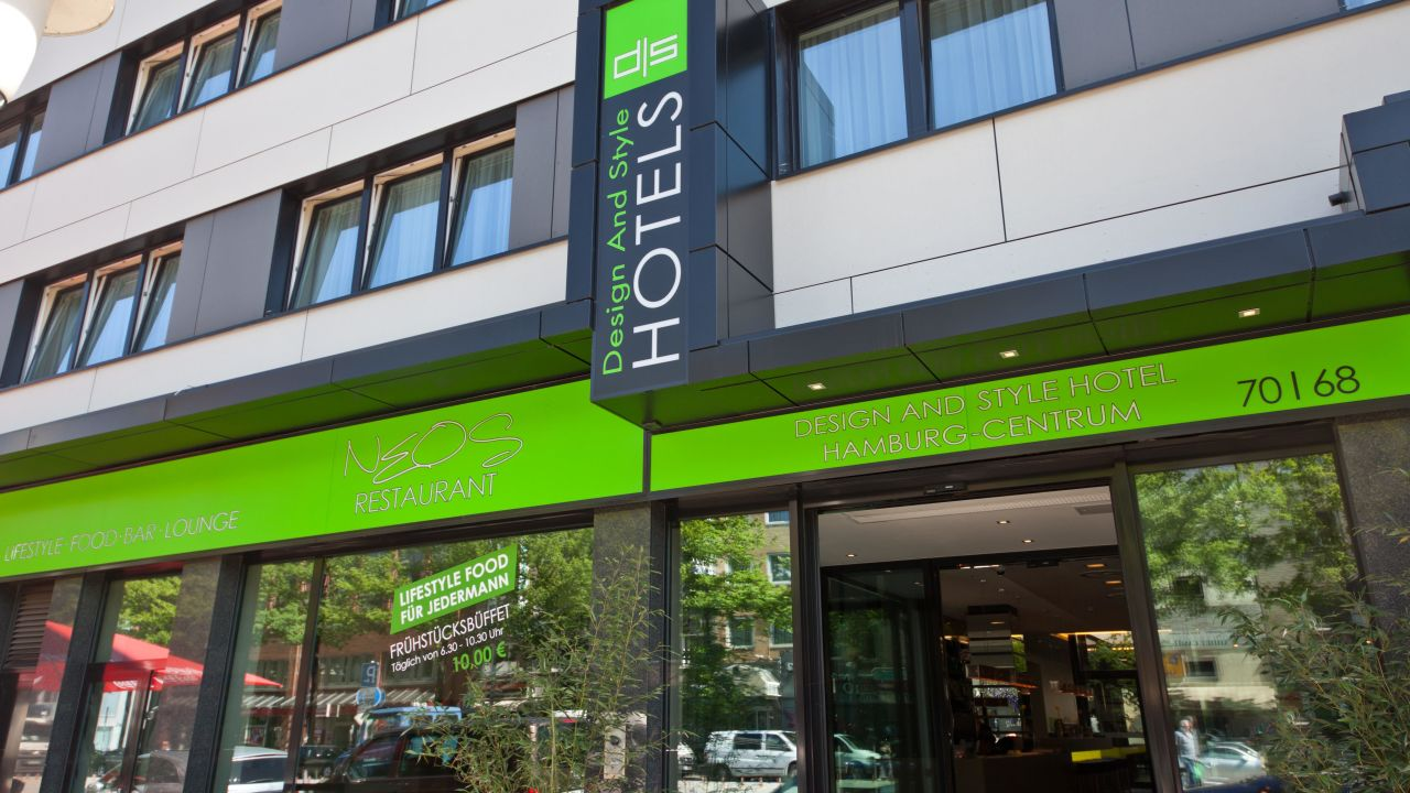 Novum style hotel hamburg centrum in hamburg for Style hotel