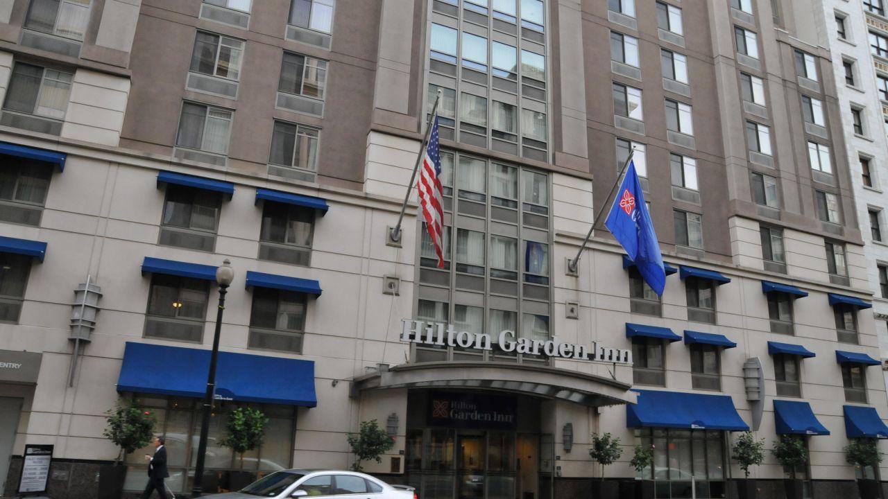 Hotel Hilton Garden Inn Washington Dc Downtown Washington D C Holidaycheck Washington D C