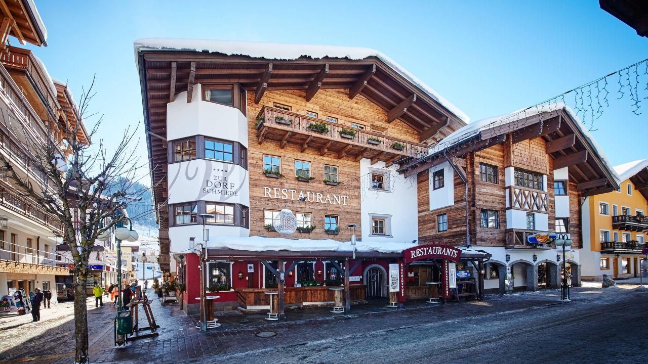 Hotel zur dorfschmiede in saalbach hinterglemm for Designhotel hinterglemm