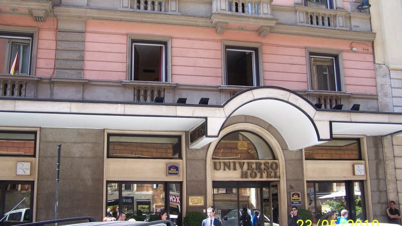 Rom Best Western Hotel Universo