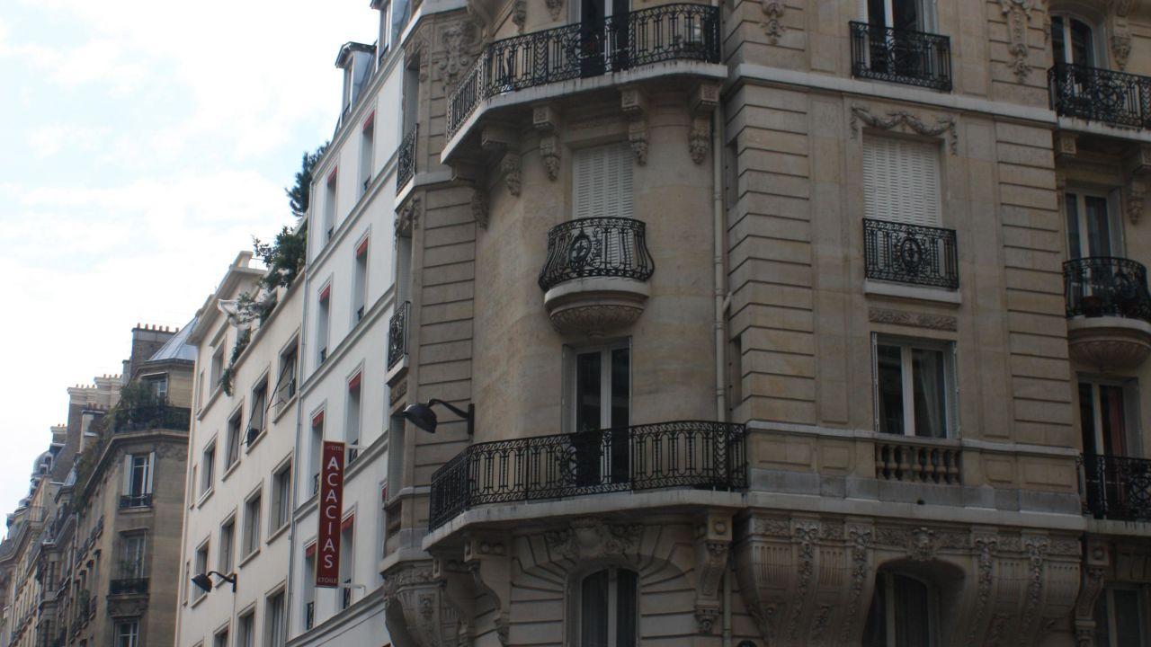 Hotel acacias etoile paris holidaycheck gro raum for Frankreich hotel paris