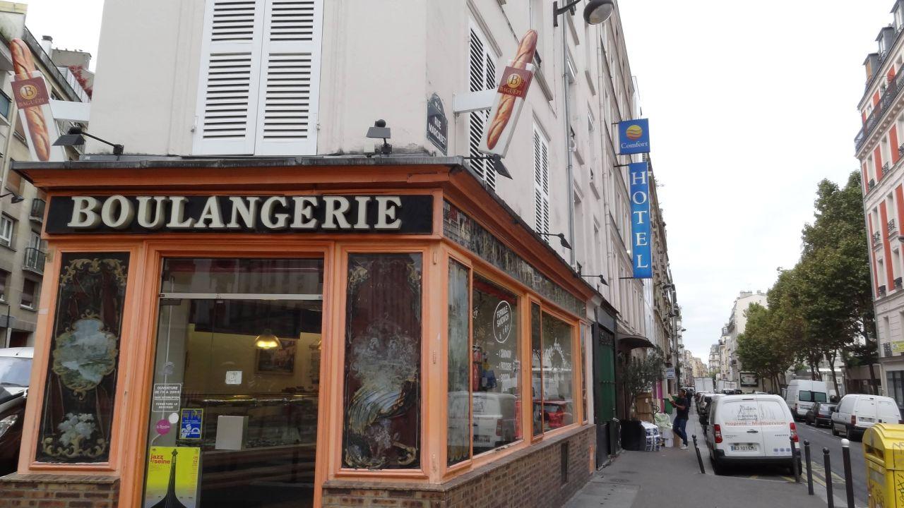 Paris Hotel Comfort Lamarck