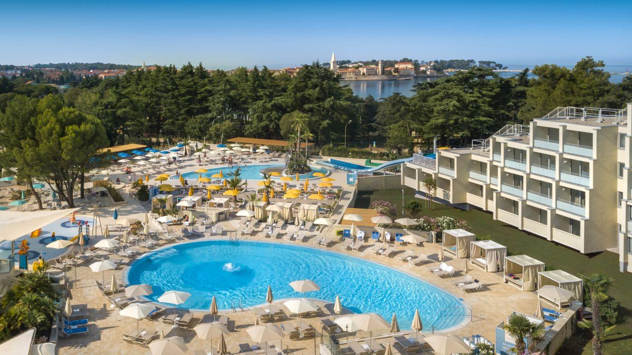 Valamar zagreb hotel porec holidaycheck istrien for Design hotels am meer