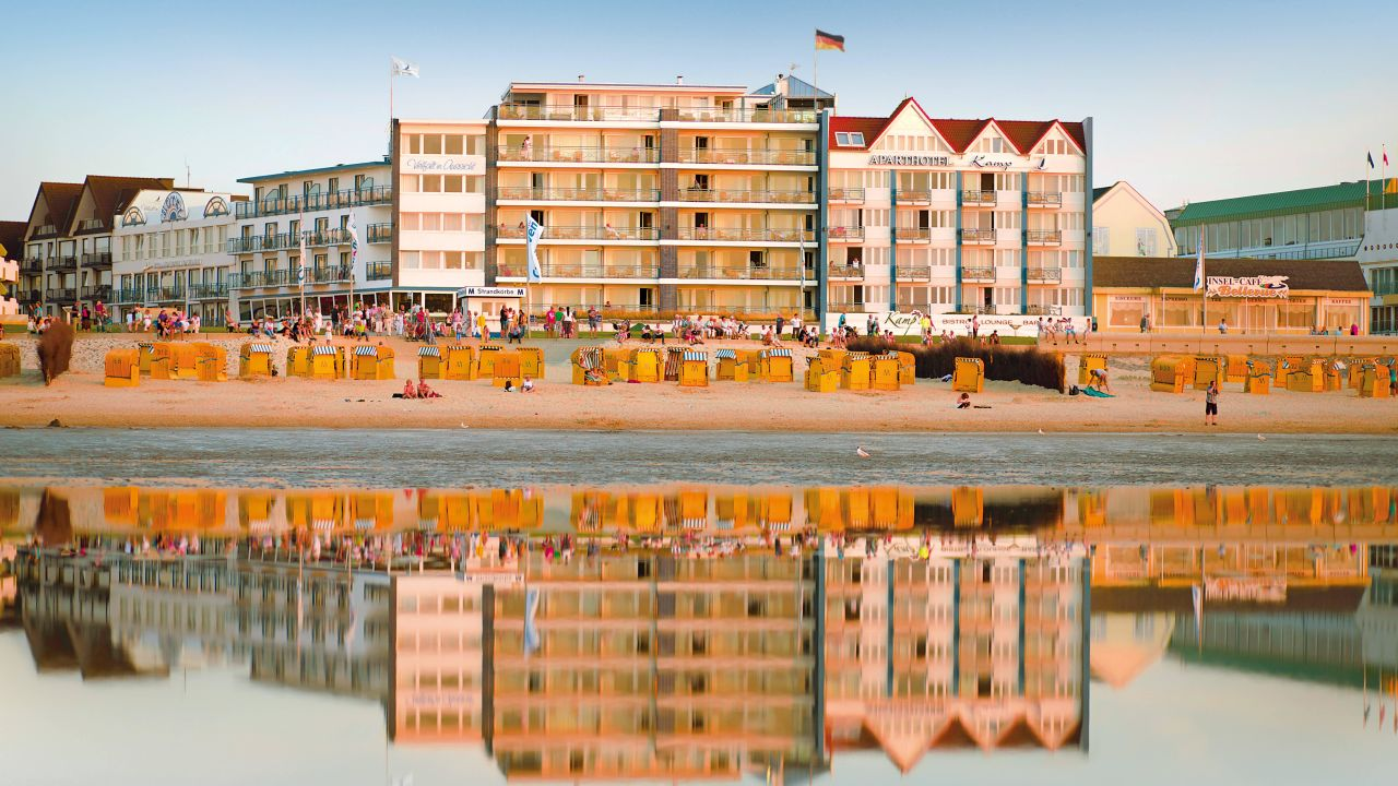 Strandhotel Duhnen / Aparthotel Kamp