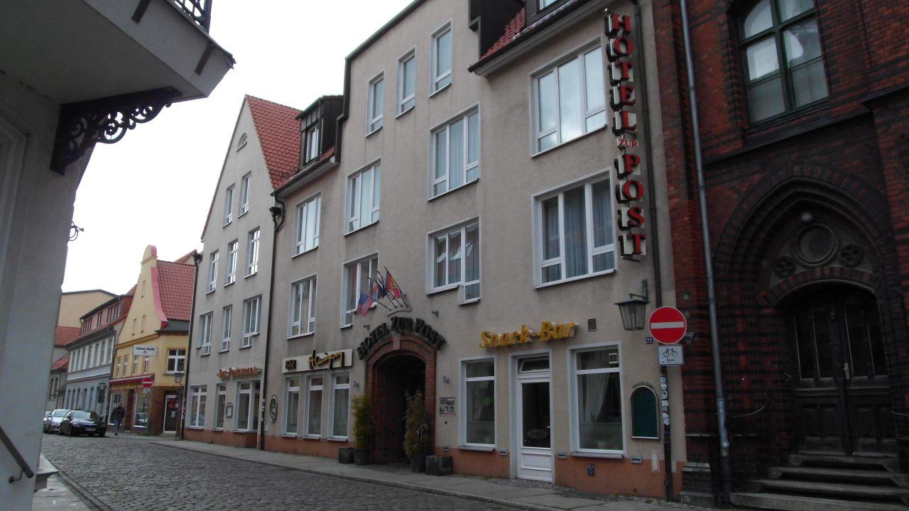 Hotel Zur Post In Stralsund