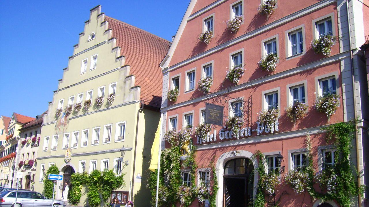 romantik hotel greifen post in feuchtwangen holidaycheck bayern deutschland. Black Bedroom Furniture Sets. Home Design Ideas