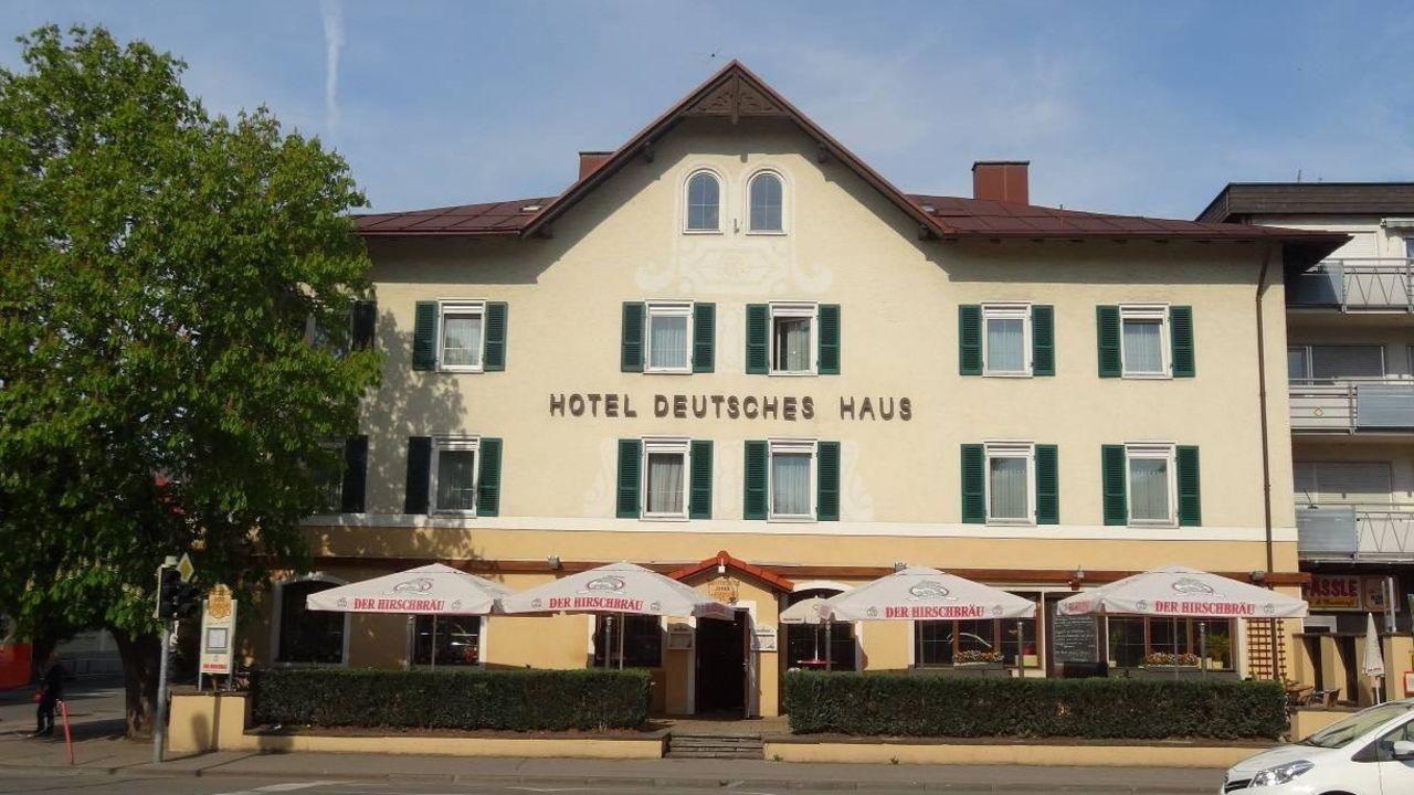 Hotel Deutsches Haus Anno 1898 in Sonthofen