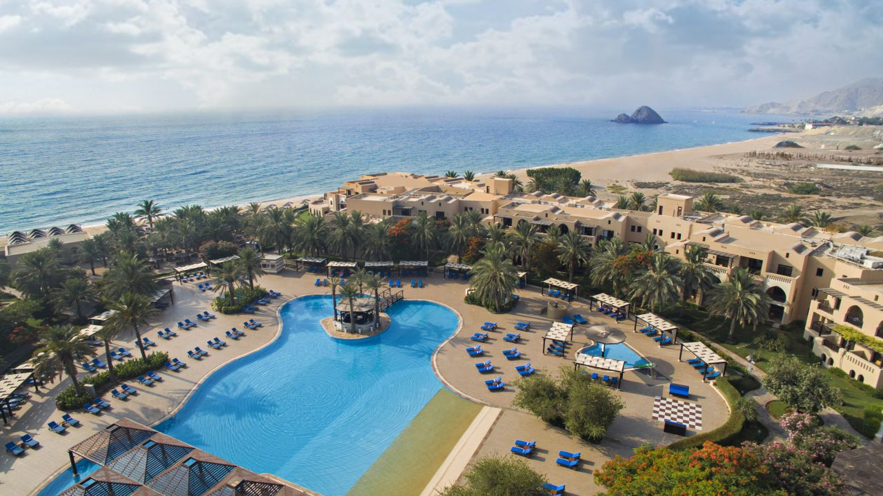 Miramar Al Aqah Beach Resort Strand