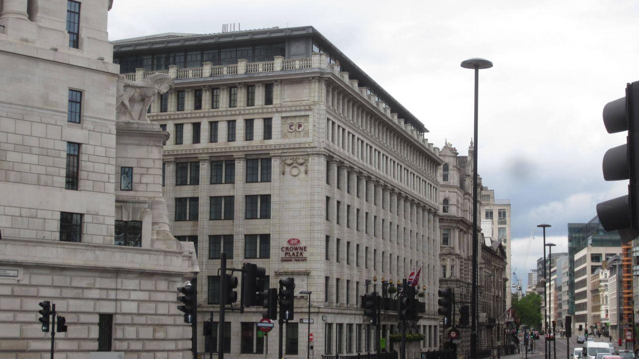 Hotel Crowne Plaza London The City City Of London Holidaycheck