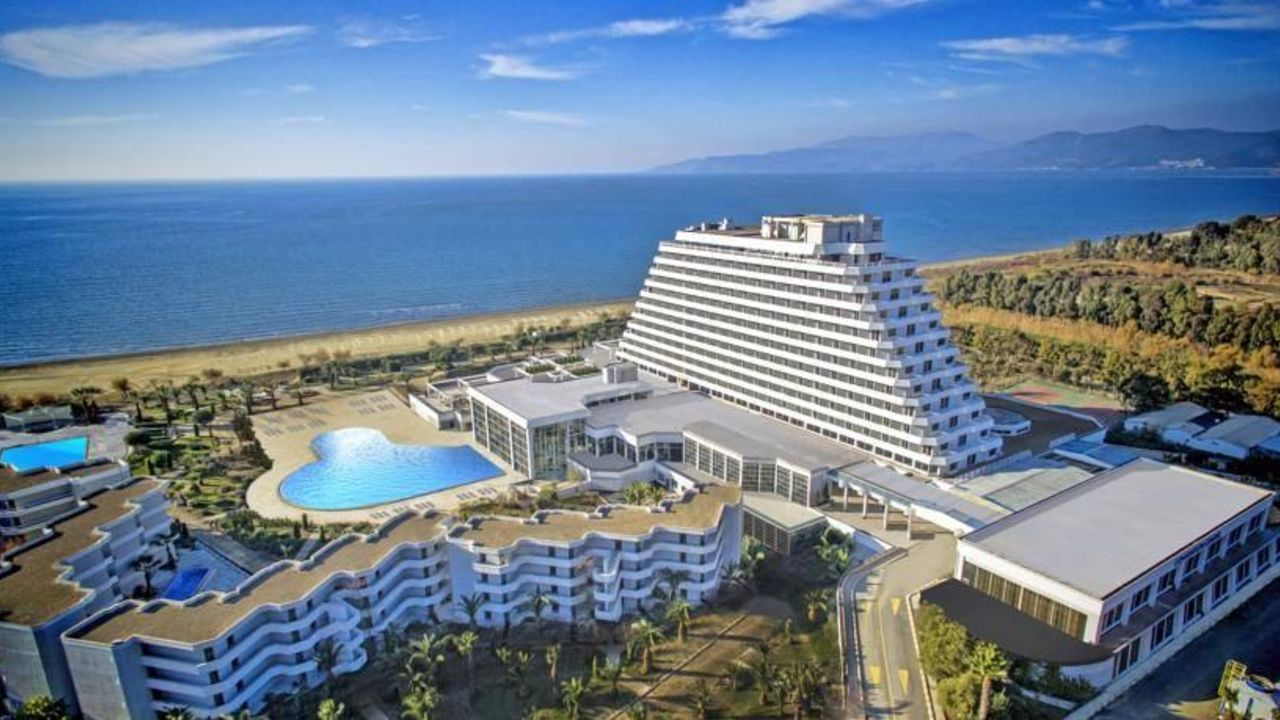 Korumar Ephesus Beach Spa Resort Hotel Kusadasi
