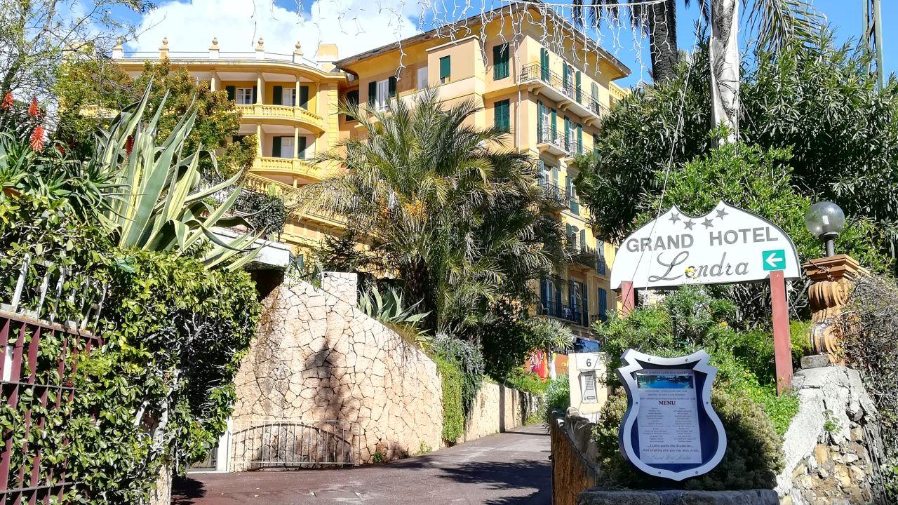 Grand Hotel Londra (San Remo) • HolidayCheck (Ligurien ...
