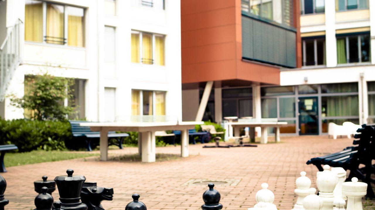 djh jugendherberge m nchen park hi munich park hostel. Black Bedroom Furniture Sets. Home Design Ideas