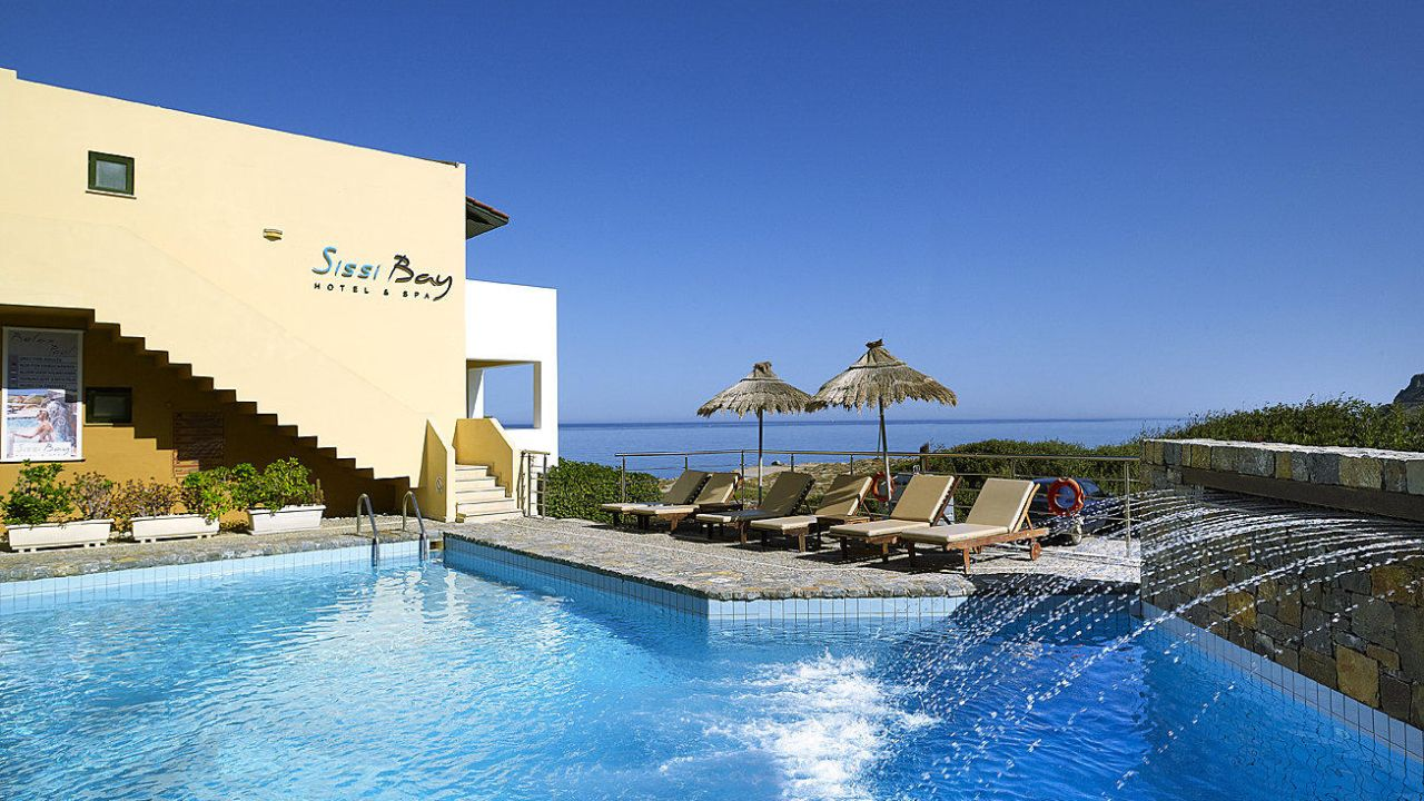 Sissi bay hotel spa sisi holidaycheck kreta for Design boutique hotel kreta