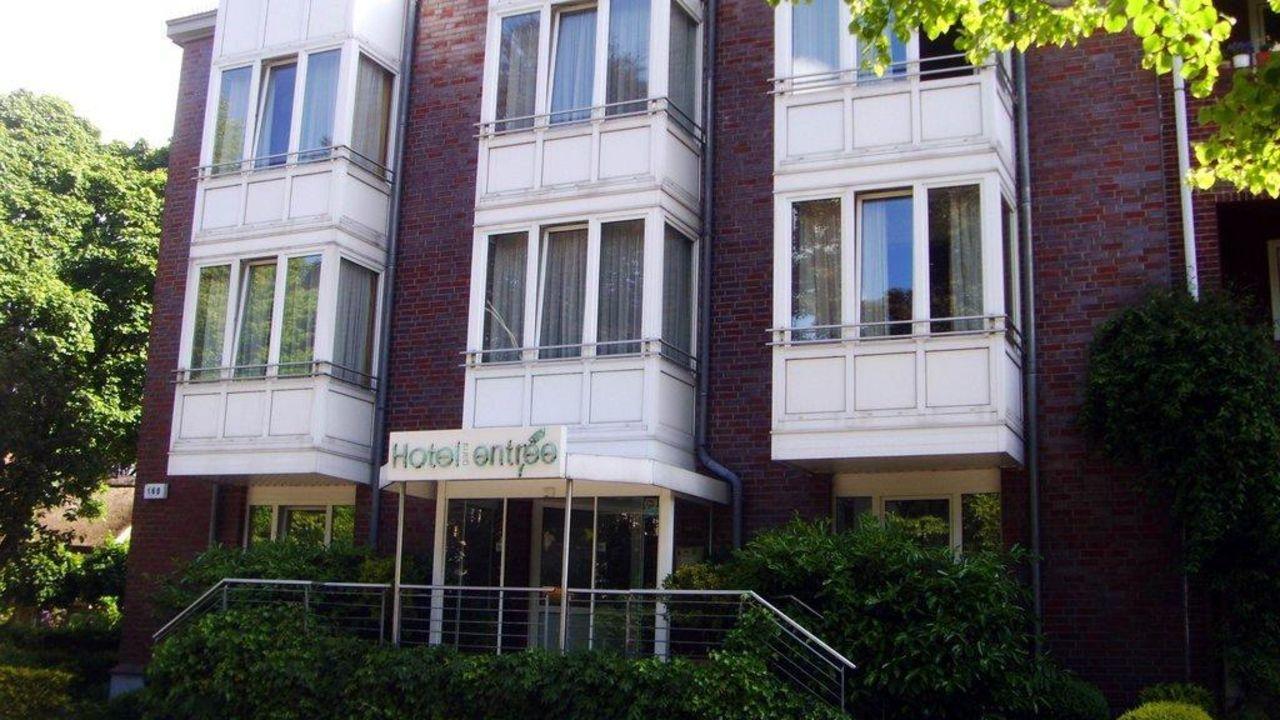 Entree Gross Borstel Garni Hotel Hamburg Nord Holidaycheck