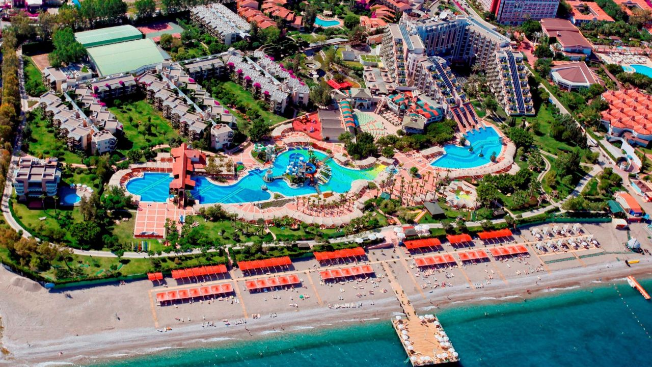 Hotel Limak Limra Resort Kemer Kiris Video