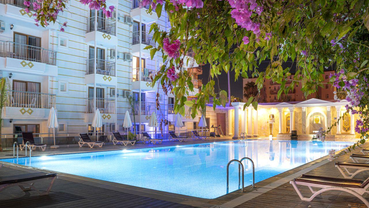 Das Palmiye Garden ist ein 3* Hotel und kann jetzt ab 352€ gebucht werden
