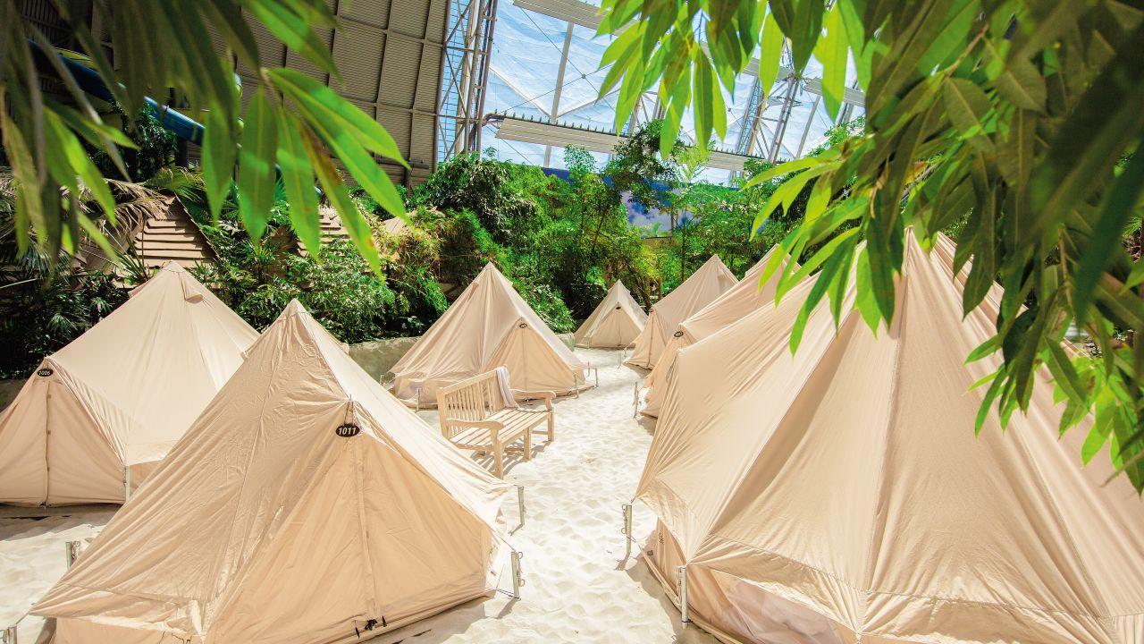 Zelt Tropical Island : Tropical islands resort zelte krausnick holidaycheck