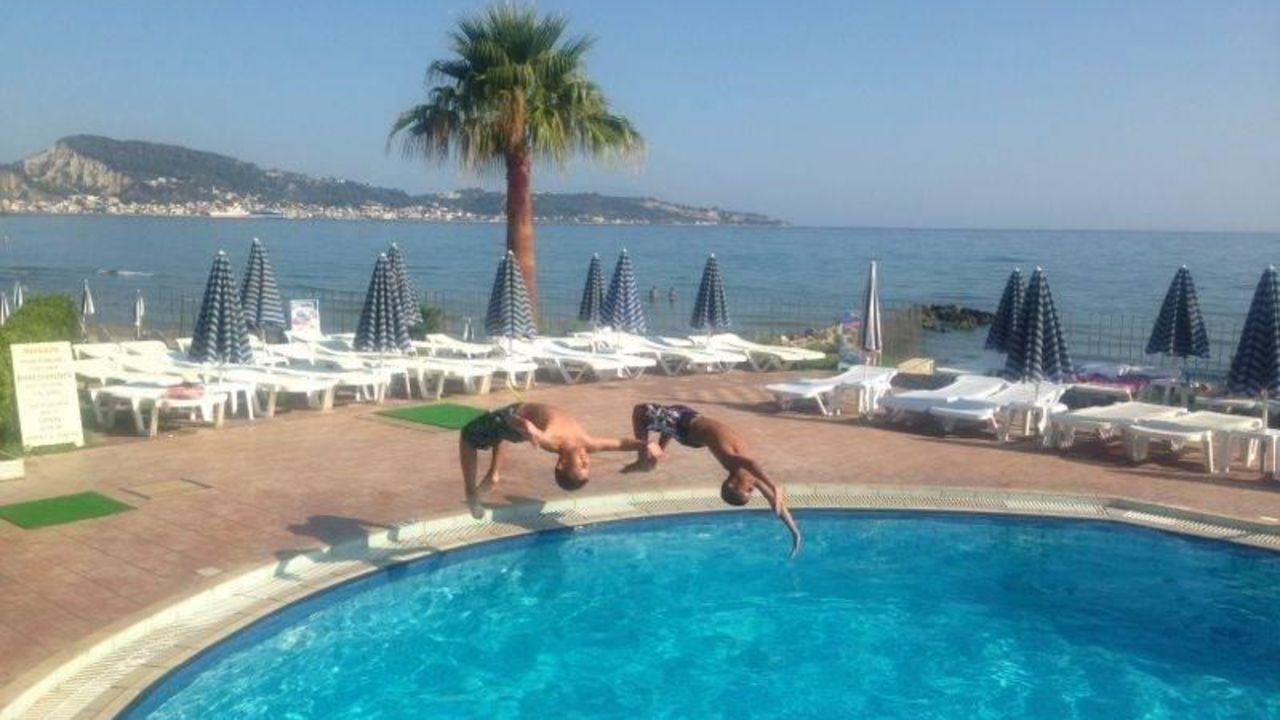 hotel xenos kamara beach in argassi • holidaycheck | zakynthos, Badezimmer ideen