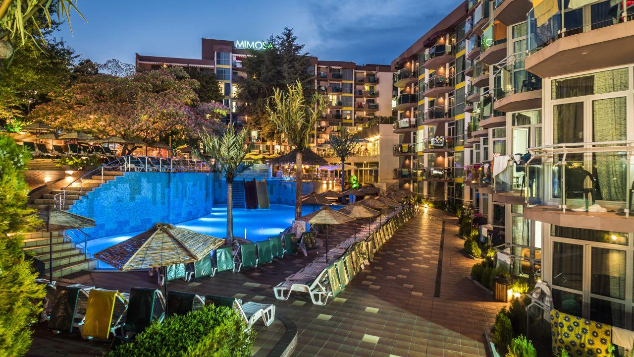 Cooee Mimosa Sunshine Hotel Goldstrand Holidaycheck Bulgarien