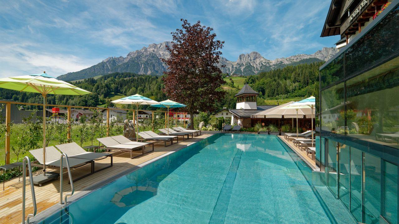 All inclusive Hotel Die Sonne: Hotell Saalbach - BERGFEX