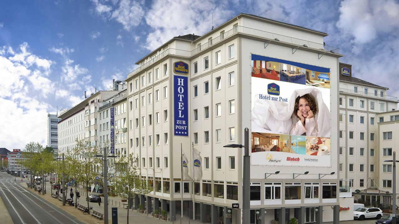 best western hotel zur post bremen holidaycheck bremen deutschland. Black Bedroom Furniture Sets. Home Design Ideas