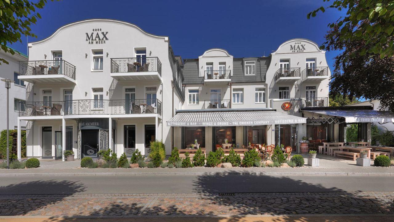 Hotel max am meer k hlungsborn in k hlungsborn for Design hotels am meer