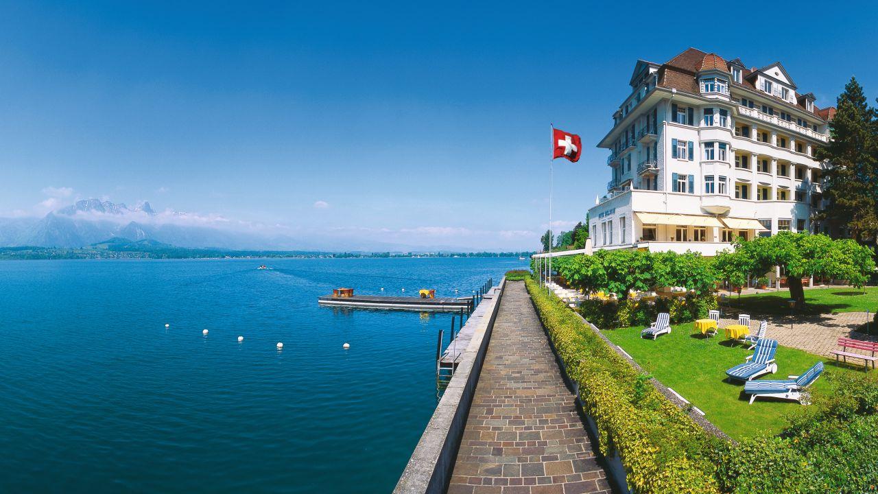 Mrchenhotel Bellevue (Braunwald) HolidayCheck (Kanton