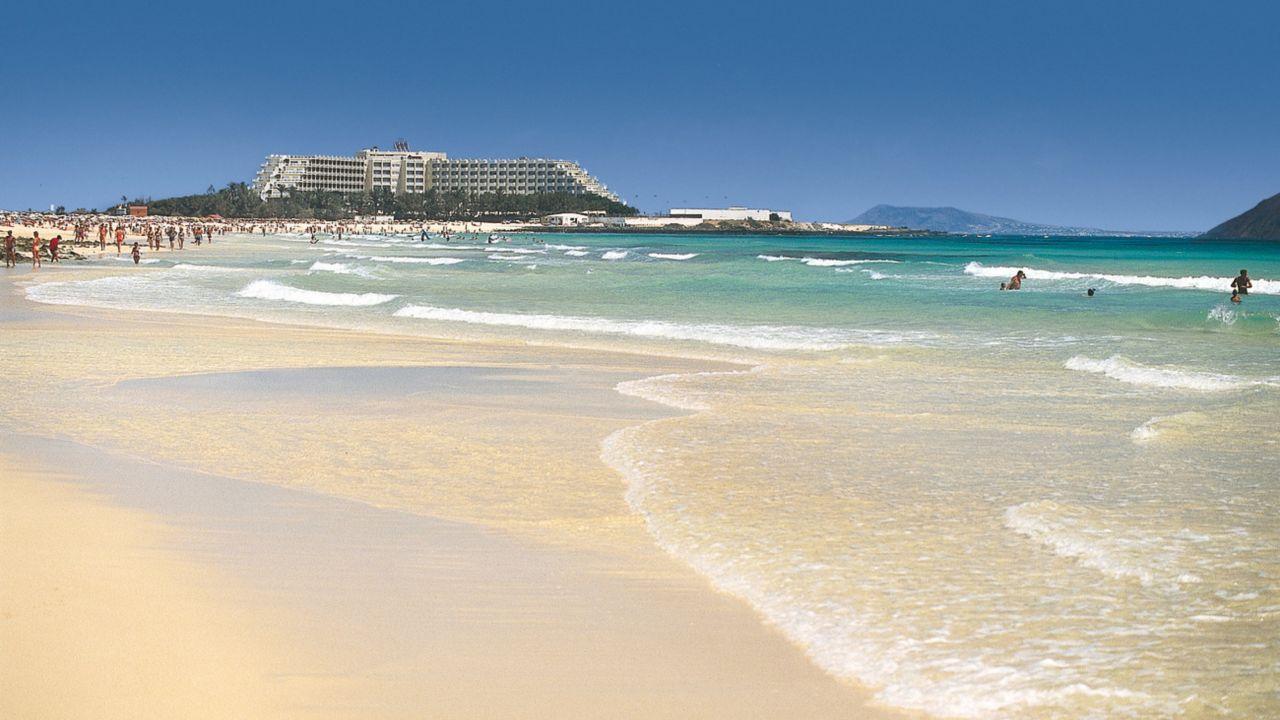 Fuerteventura , Corralejo. Riu Oliva Beach Hotel. Sonne ... |Hotel Corralejo Fuerteventura