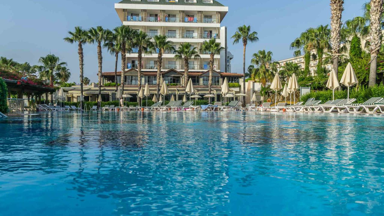 Trendy Palm Beach Hotel Side Kumkoy Holidaycheck Turkische
