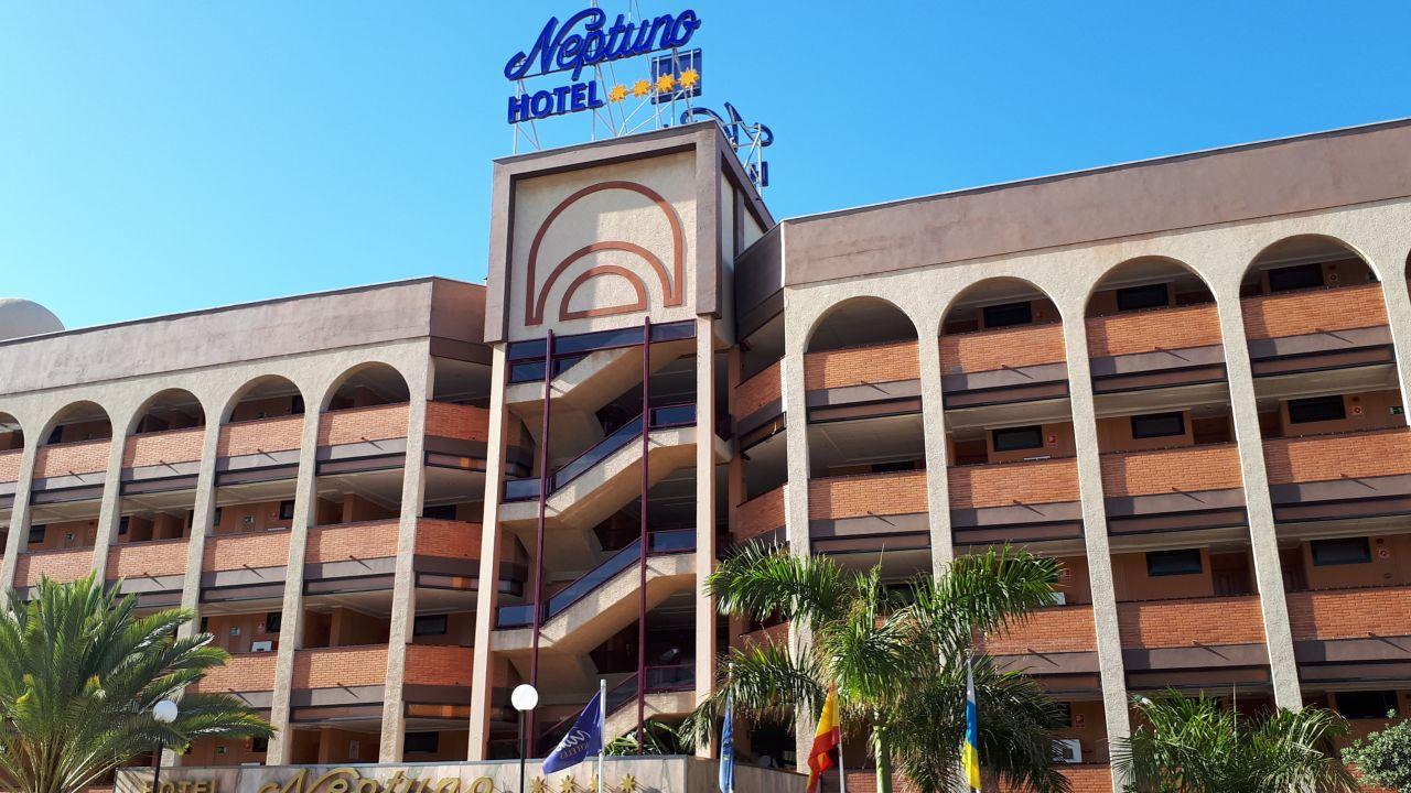 Mur Hotel Neptuno Gran Canaria Playa Del Ingles Holidaycheck