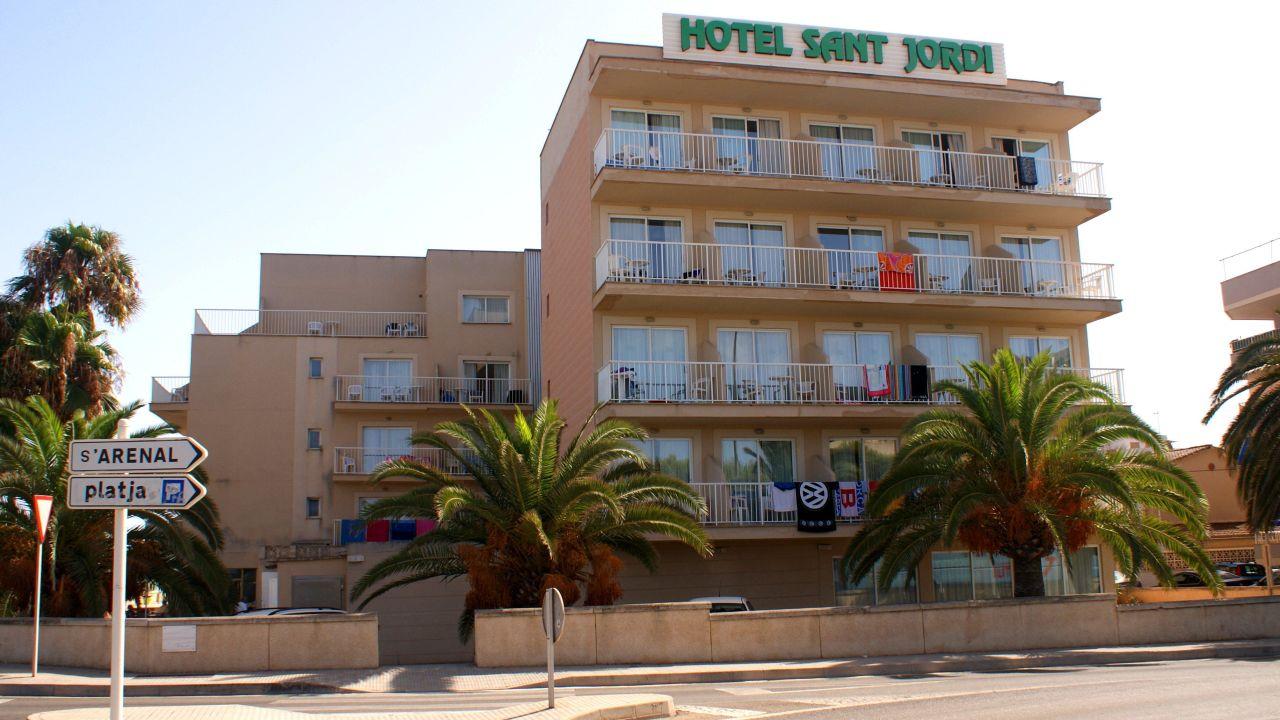 Hotel Sant Jordi Palma De Mallorca Spanien
