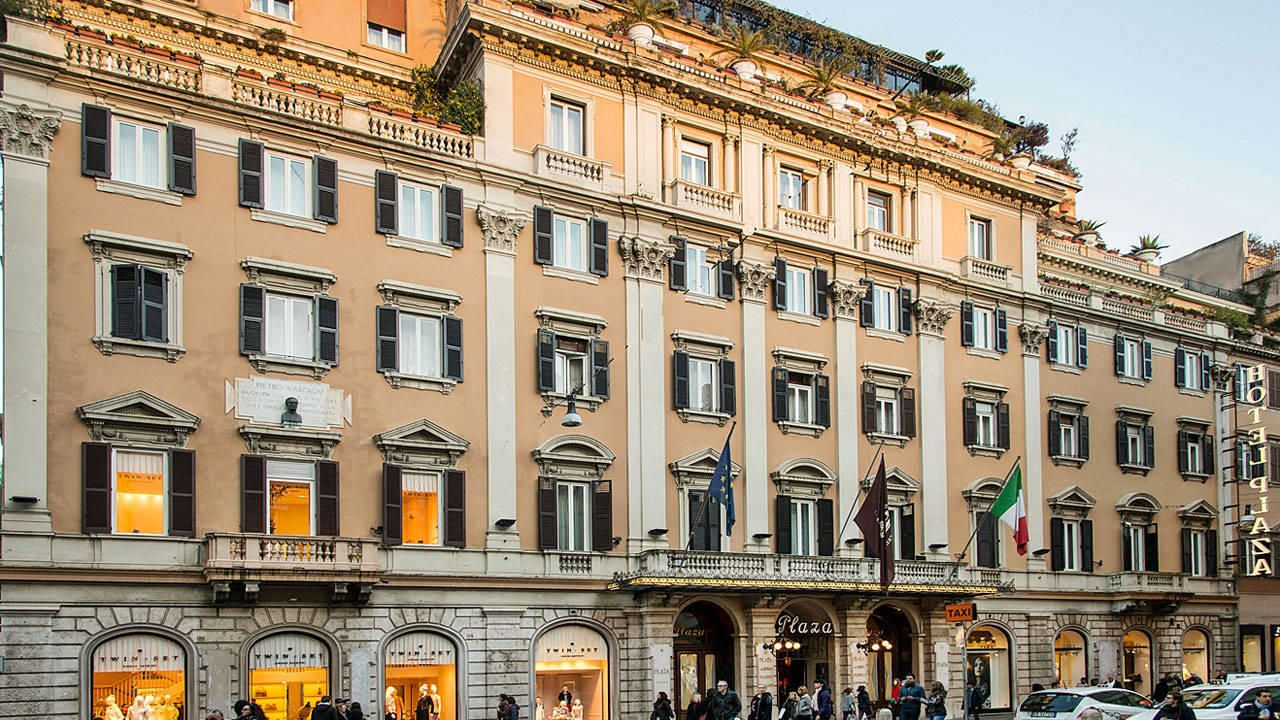 Grand Hotel Plaza Rom Holidaycheck Latium Italien