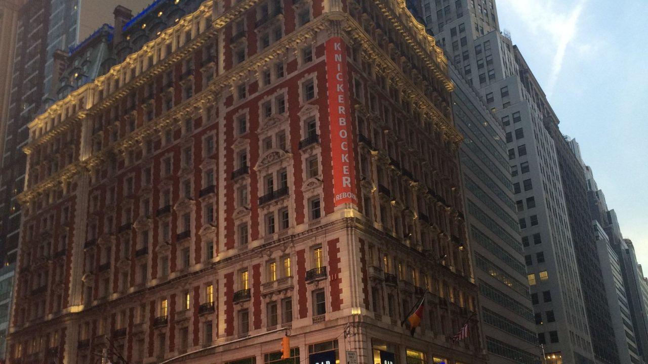 The Knickerbocker Hotel New York New York Manhattan