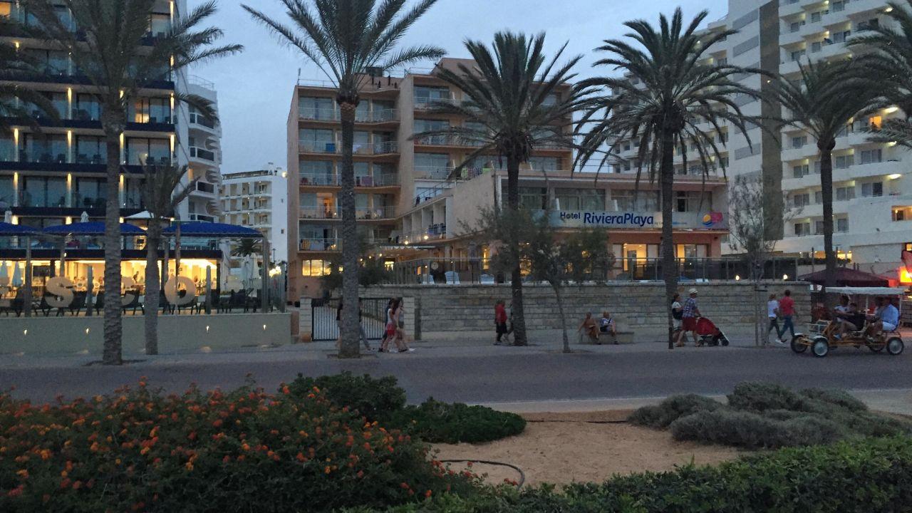 Hotel Riviera Playa Vorganger Hotel Existiert Nicht Mehr Platja