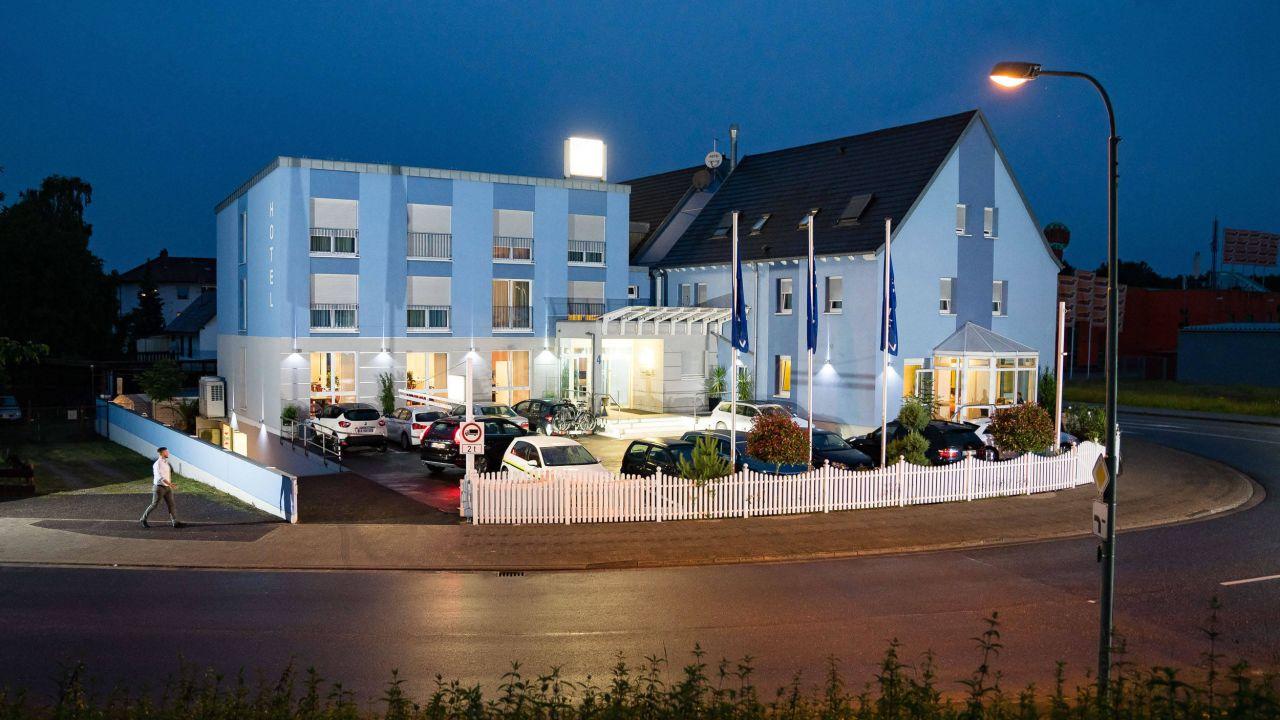 Hotel Vater Rhein de Maximiliansau carte
