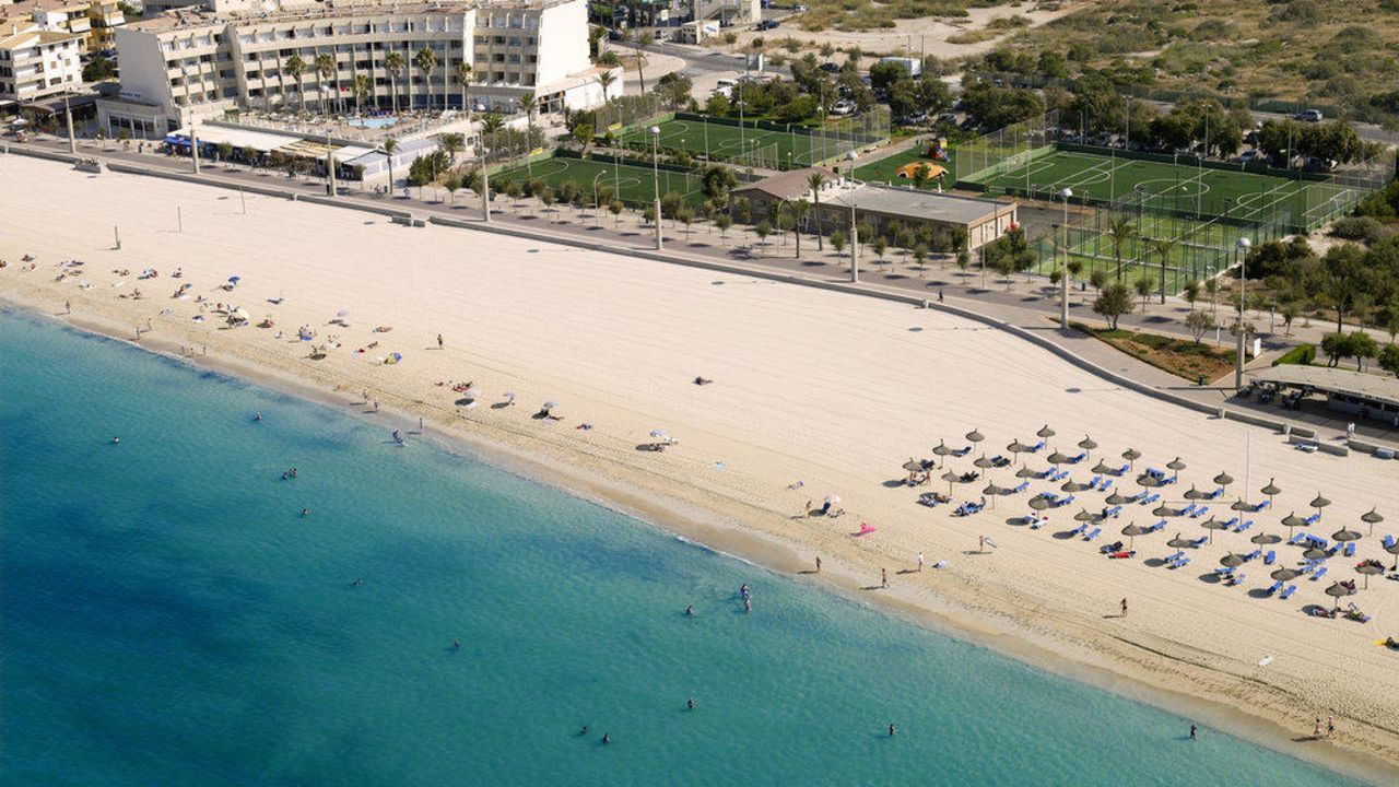 Aparthotel Fontanellas Playa In Platja De Palma Playa De