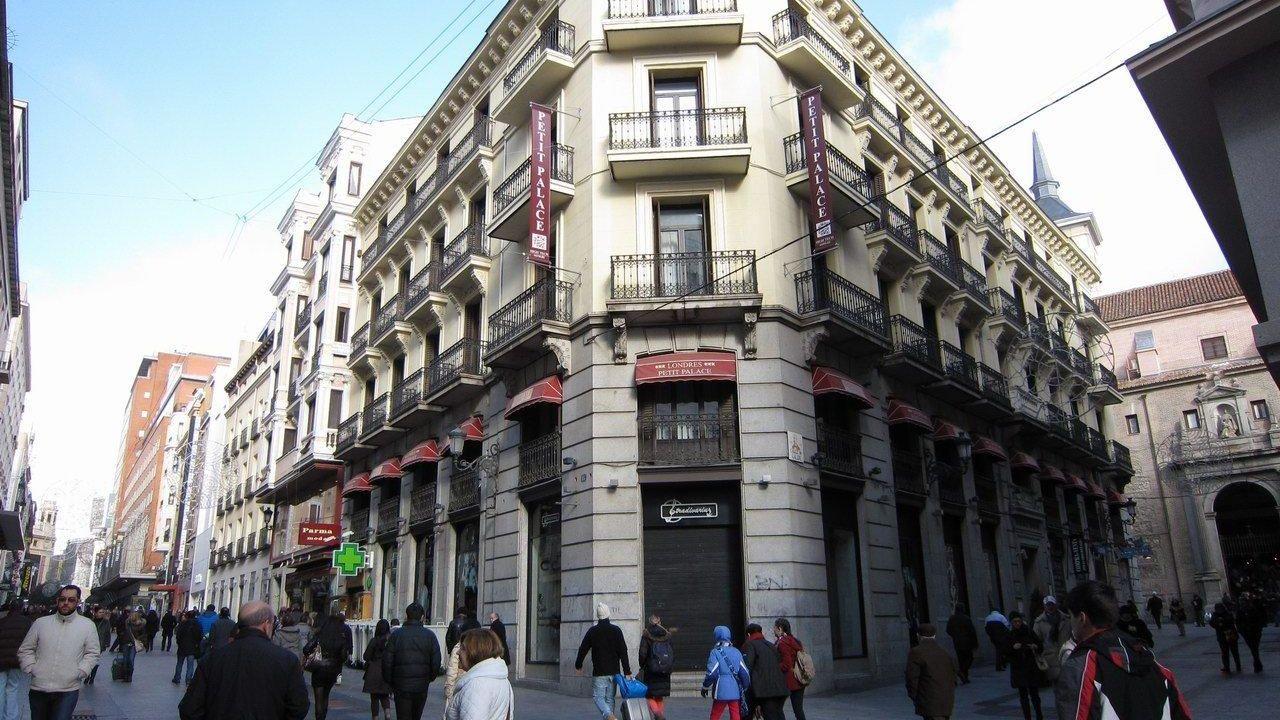 Hotel petit palace londres madrid holidaycheck madrid for Londres hotel madrid