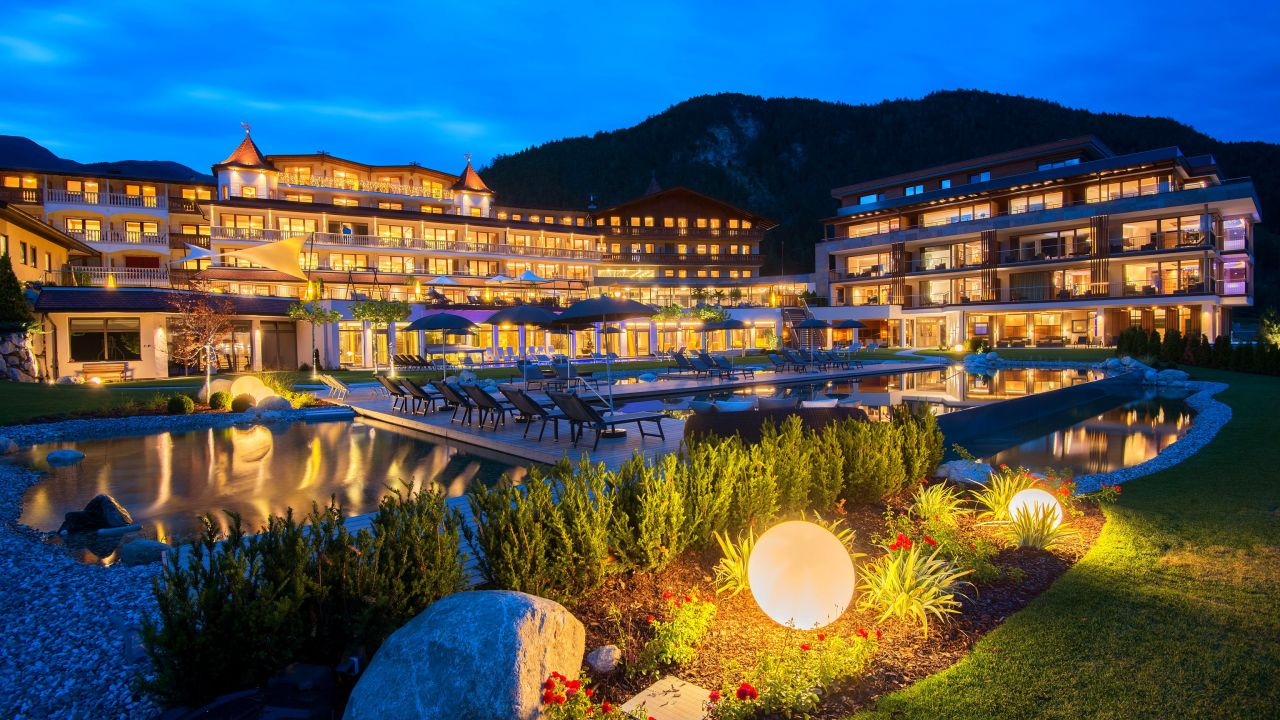 Hotel kronblick chienes kiens holidaycheck s dtirol for Design wellnesshotel sudtirol