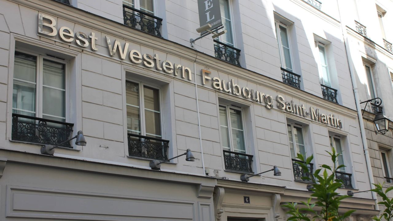 Hotel best western faubourg saint martin in paris for Hotel best western paris